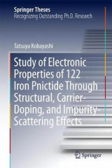 Omslag - Study of Electronic Properties of 122 Iron Pnictide Through Structural, Carrier-Doping, and Impurity-Scattering Effects 2017