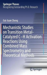 Omslag - Mechanistic Studies on Transition Metal-Catalyzed C-H Activation Reactions Using Combined Mass Spectrometry and Theoretical Methods