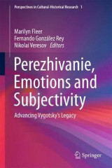 Omslag - Perezhivanie, Emotions and Subjectivity