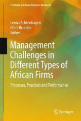 Omslag - Management Challenges in Different Types of African Firms 2018