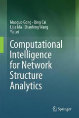 Omslag - Computational Intelligence for Network Structure Analytics