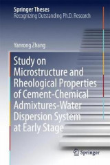 Omslag - Study on Microstructure and Rheological Properties of Cement-Chemical Admixtures-Water Dispersion System at Early Stage