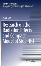 Omslag - Research on the Radiation Effects and Compact Model of SiGe HBT