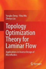 Omslag - Topology Optimization Theory for Laminar Flow