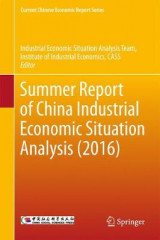 Omslag - Summer Report of China Industrial Economic Situation Analysis