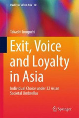 Omslag - Exit, Voice and Loyalty in Asia