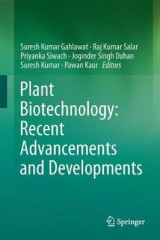 Omslag - Plant Biotechnology: Recent Advancements and Developments