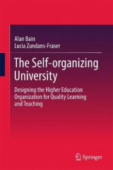 Omslag - The Self-organizing University