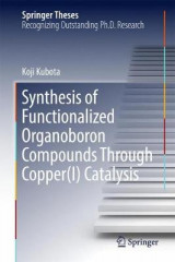 Omslag - Synthesis of Functionalized Organoboron Compounds Through Copper(I) Catalysis