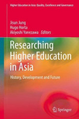 Omslag - Researching Higher Education in Asia