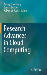 Omslag - Research Advances in Cloud Computing