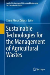 Omslag - Sustainable Technologies for the Management of Agricultural Wastes