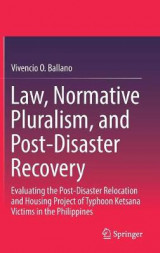 Omslag - Law, Normative Pluralism, and Post-Disaster Recovery