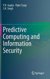 Omslag - Predictive Computing and Information Security