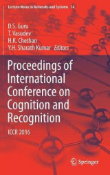 Omslag - Proceedings of International Conference on Cognition and Recognition