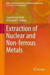 Omslag - Extraction of Nuclear and Non-ferrous Metals