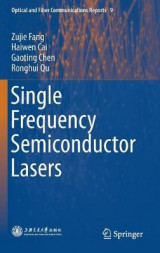 Omslag - Single Frequency Semiconductor Lasers