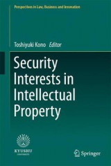 Omslag - Security Interests in Intellectual Property