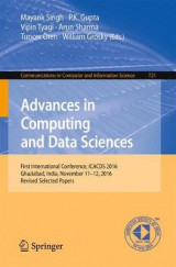Omslag - Advances in Computing and Data Sciences