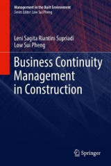 Omslag - Business Continuity Management in Construction