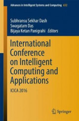 Omslag - International Conference on Intelligent Computing and Applications