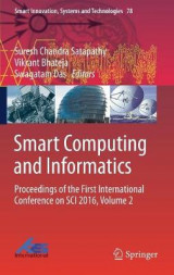 Omslag - Smart Computing and Informatics