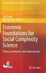 Omslag - Economic Foundations for Social Complexity Science