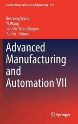 Omslag - Advanced Manufacturing and Automation VII