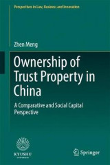 Omslag - Ownership of Trust Property in China