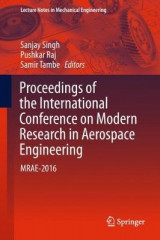 Omslag - Proceedings of the International Conference on Modern Research in Aerospace Engineering