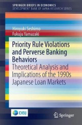 Omslag - Priority Rule Violations and Perverse Banking Behaviors
