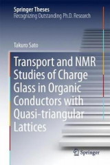 Omslag - Transport and NMR Studies of Charge Glass in Organic Conductors with Quasi-triangular Lattices