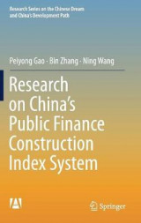 Omslag - Research on China's Public Finance Construction Index System