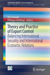 Omslag - Theory and Practice of Export Control