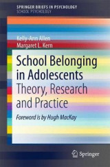 Omslag - School Belonging in Adolescents