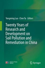 Omslag - Twenty Years of Research and Development on Soil Pollution and Remediation in China