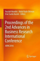 Omslag - Proceedings of the 2nd Advances in Business Research International Conference