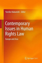 Omslag - Contemporary Issues in Human Rights Law