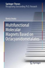 Omslag - Multifunctional Molecular Magnets Based on Octacyanidometalates