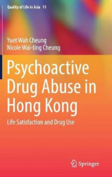 Omslag - Psychoactive Drug Abuse in Hong Kong