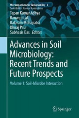 Omslag - Advances in Soil Microbiology: Recent Trends and Future Prospects