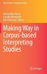 Omslag - Making Way in Corpus-based Interpreting Studies