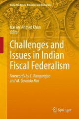 Omslag - Challenges and Issues in Indian Fiscal Federalism