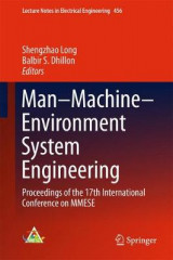 Omslag - Man-Machine-Environment System Engineering