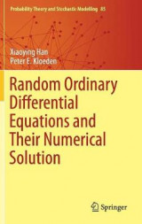 Omslag - Random Ordinary Differential Equations and Their Numerical Solution