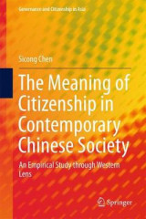 Omslag - The Meaning of Citizenship in Contemporary Chinese Society