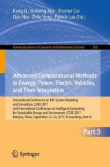 Omslag - Advanced Computational Methods in Energy, Power, Electric Vehicles, and Their Integration