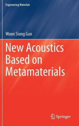 Omslag - New Acoustics Based on Metamaterials