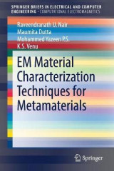 Omslag - EM Material Characterization Techniques for Metamaterials