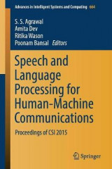 Omslag - Speech and Language Processing for Human-Machine Communications